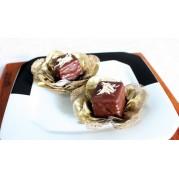 Pão de Mel Chocolate Branco (50 unidades)